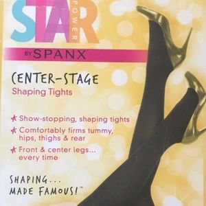 Spanx star power Seamless shaping tights size B